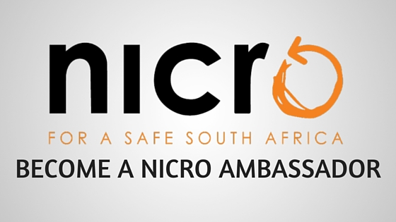 become a NICRO ambassador